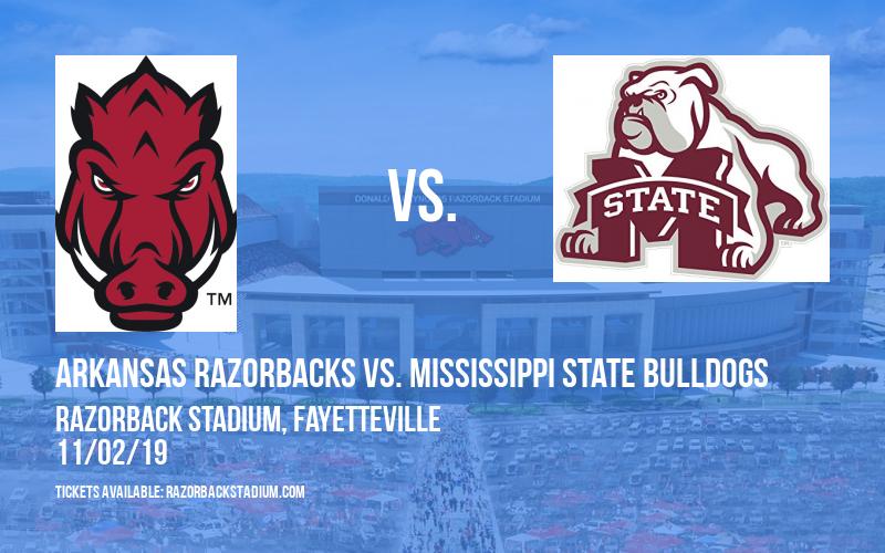 Arkansas Razorbacks vs. Mississippi State Bulldogs at Razorback Stadium