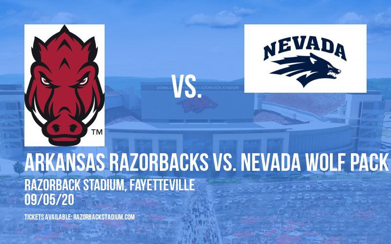 Arkansas Razorbacks vs. Nevada Wolf Pack at Razorback Stadium