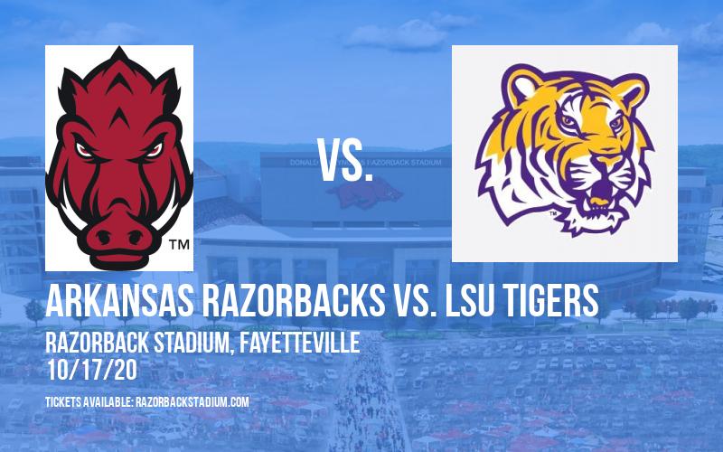 Arkansas Razorbacks vs. LSU Tigers at Razorback Stadium