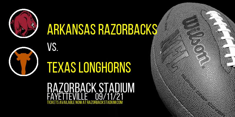 Arkansas Razorbacks vs. Texas Longhorns at Razorback Stadium