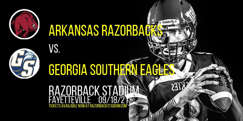 Arkansas Razorbacks vs. Georgia Southern Eagles at Razorback Stadium