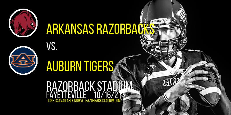Arkansas Razorbacks vs. Auburn Tigers at Razorback Stadium